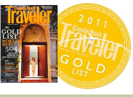 Conde Nast 2011 Gold List