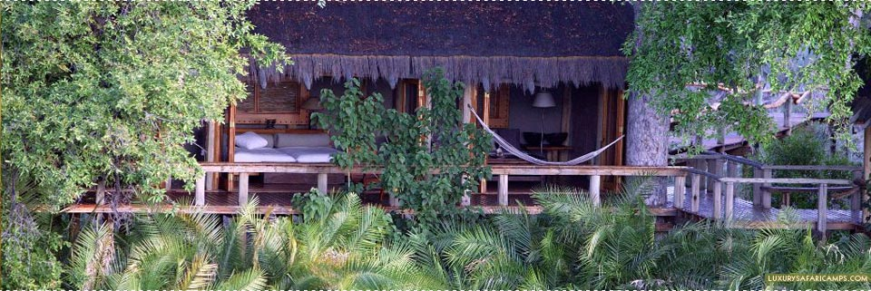 Exterior view of bedroom at Jao Camp