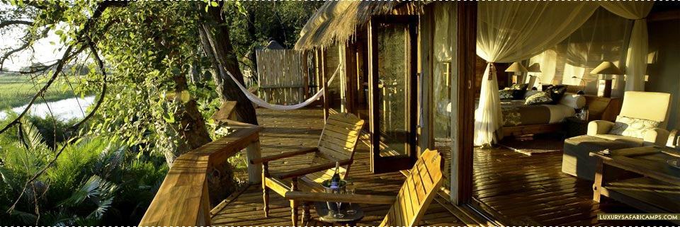 Romantic deck area at Jao Camp