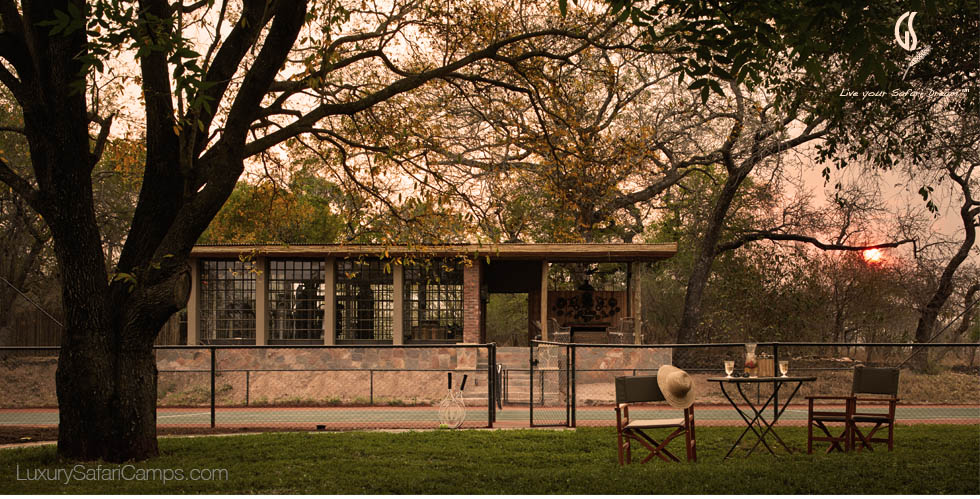 Tennis in South Africa at Singita Castleton House