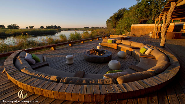 Living areas at Singita Castleton House