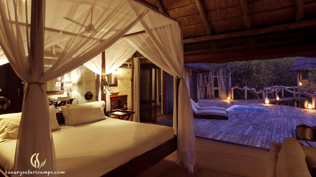 Elegant accommodation at Singita Castleton House