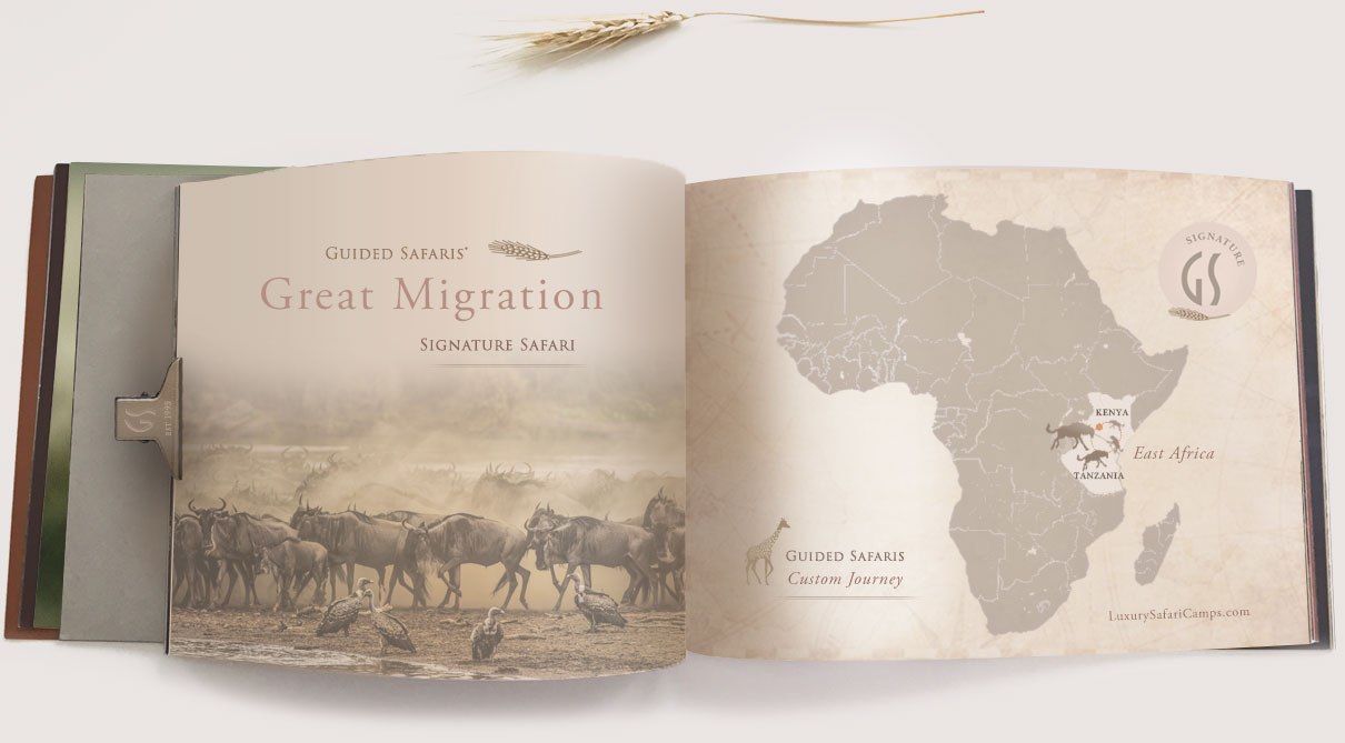 Great Migration Safari Map