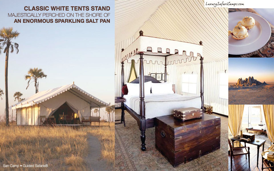 The San Camp Experience Botswana