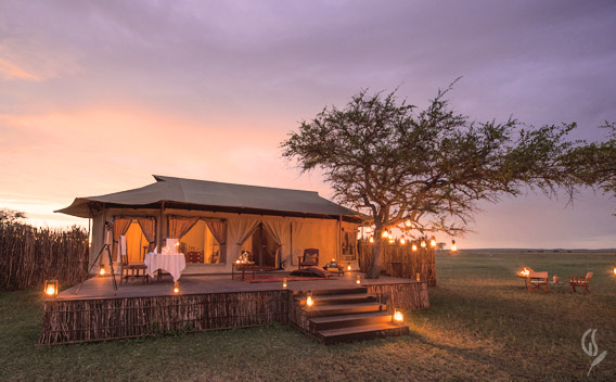 Luxury safari tents at Singita Sabora & Singita Sabora Tented Camp - Luxury Safari Camps
